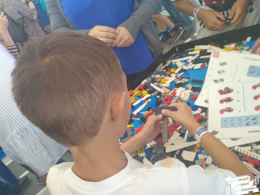 Lego City Road Show в Казани